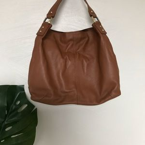 Kooba Brown Leather Shoulder Bag